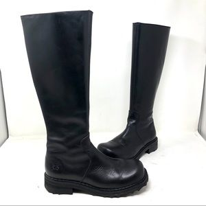 John Fluevog CeCe F Knee tall Black Boots 5,5 A7